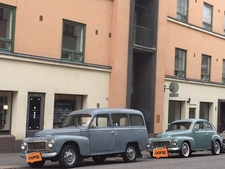 Volvo Duetto and 544 spotted