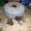 Fiat 1500 Spider Rear brake drum and Cylinders.