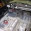 Fiat 1500 Spider Floor prepped