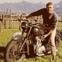 Steve McQueen biker