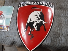 Collectables Lamborghini sign 0000