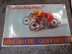 Collectables Shell sign 0000